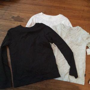 3 size 7 Lee shirts